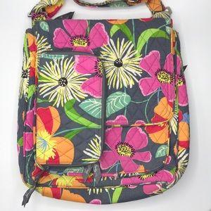EUC Vera Bradley Jazzy Blooms Crossbody & Wallet
